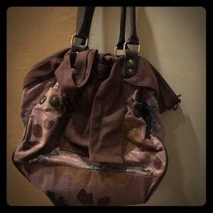 Anthropologie Shoulder Bag Purse Hobo